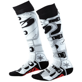 O'Neal Pro MX Socken black/white